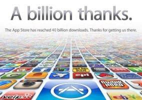 La App Store llega a los 40.000 millones de descargas