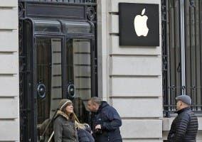 Robo en la Apple Store de la Ópera de París