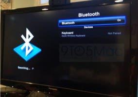 El nuevo menú Bluetooth del Apple TV