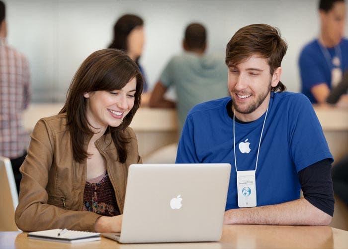Especialista en una Apple Store