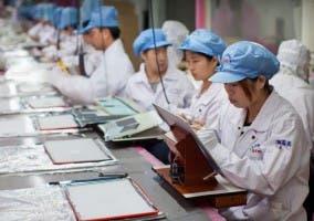 Chinos fabricando ordenadores
