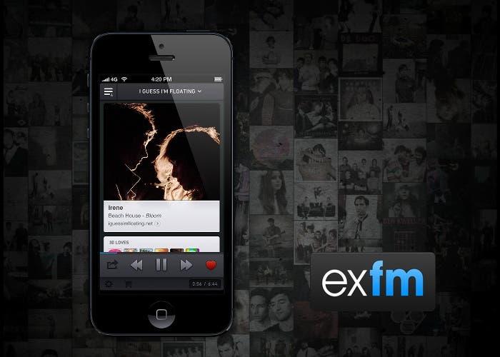 Ex.fm para iPhone