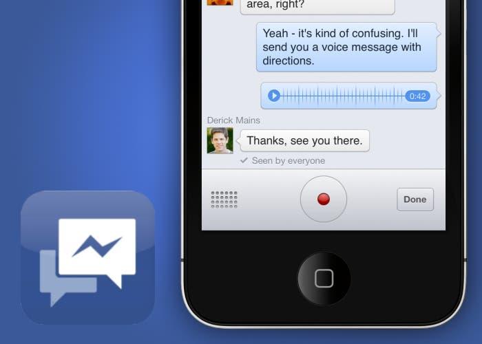 Facebook Messenger actualiza con VoIP