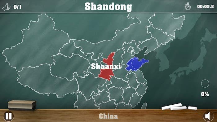 Jugando a regiones Chinas en Geomaster
