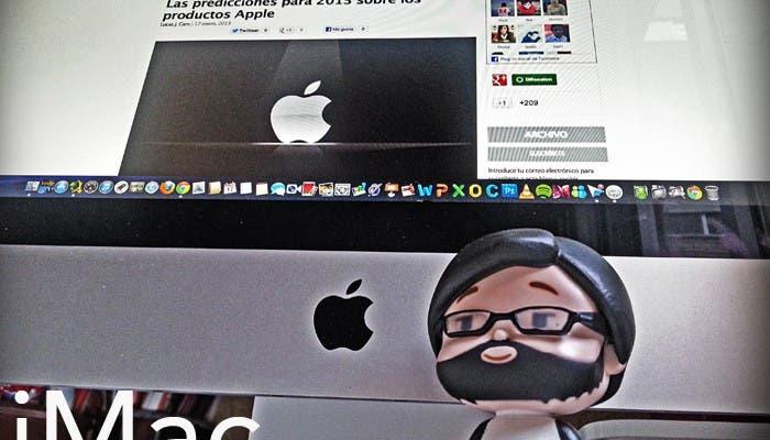 Usando un iMac de nueva generación