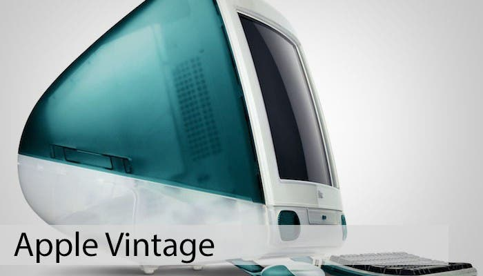 iMac G3, todo en uno de Apple
