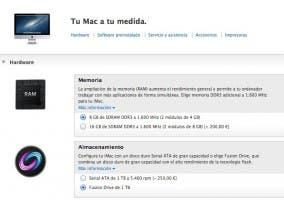 Funcionalidad de Fusion Drive ya disponible para elegir en todos los iMac