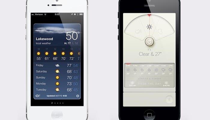 Aplicaciones que iOS trae de serie