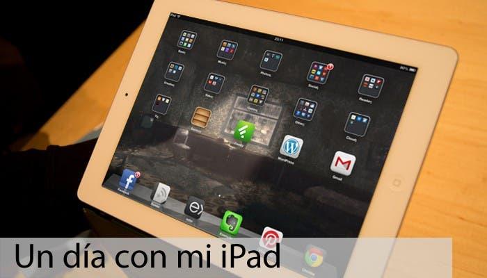 iPad de Cristian Rus con springboard