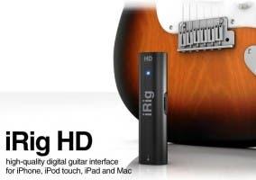 Interfaz para guitarra iRig HD