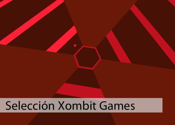 Captura de pantalla de Super Hexagon