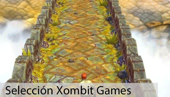 Jugando a Temple Run 2
