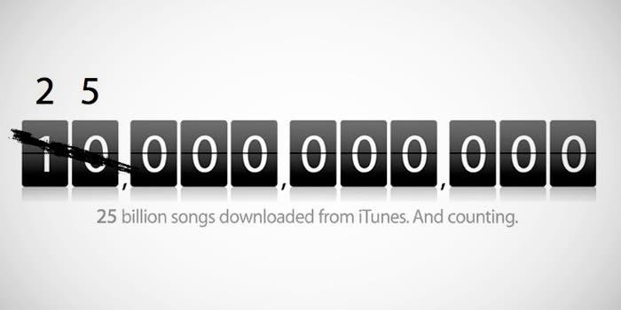 Nuevo récord de descargas iTunes