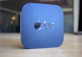 Apple TV en azul