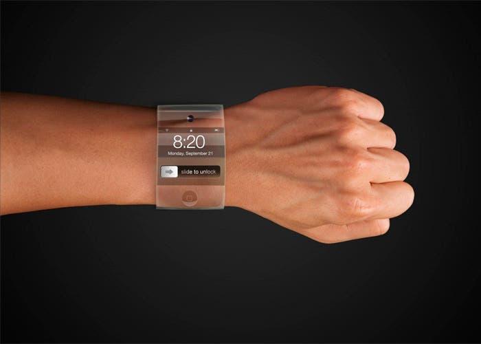 Concepto del reloj que podría fabricar Apple
