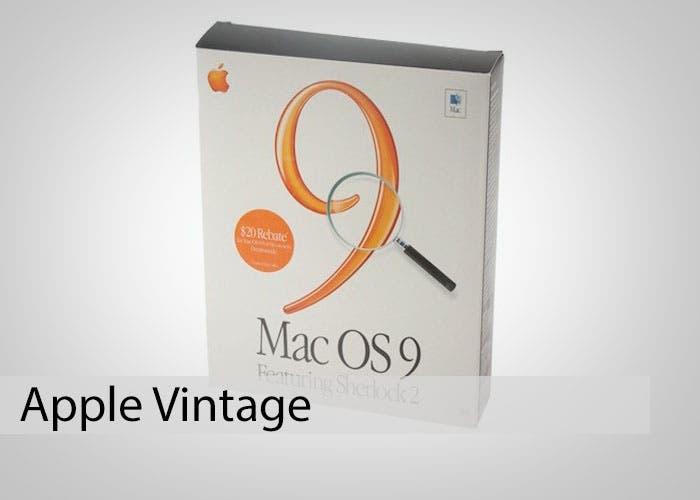 Sistema Operativo de escritorio Mac OS 9