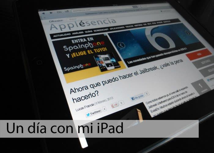 Imagen destacada un día con mi iPad