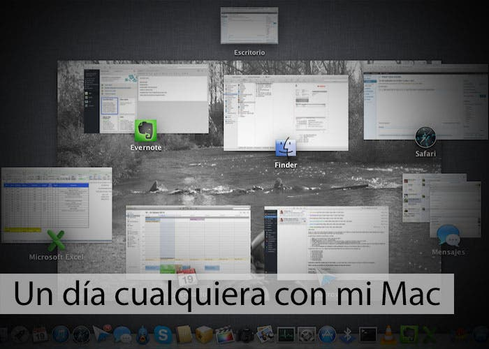 Lucas J Caro: Sección Un día cualquiera con mi Mac