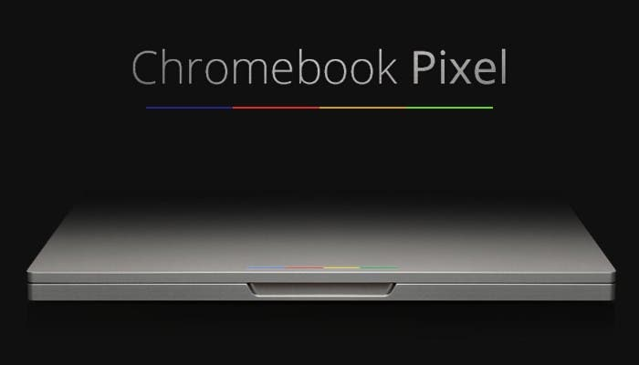 Chromebook Pixel haciendo sombra al Macbook
