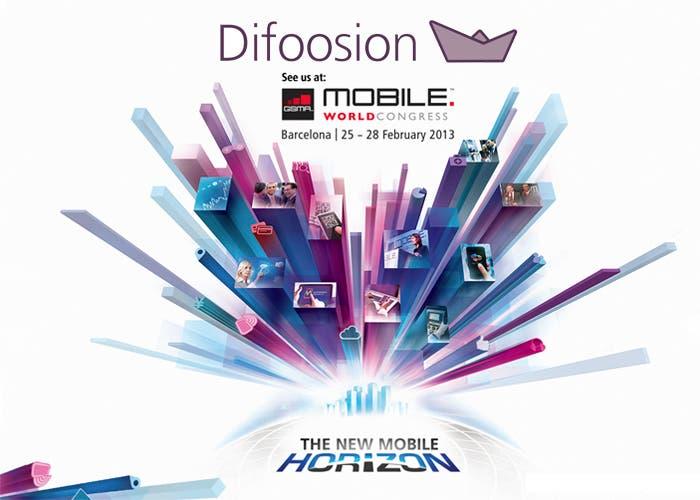 Difoosion en el Mobile World Congress