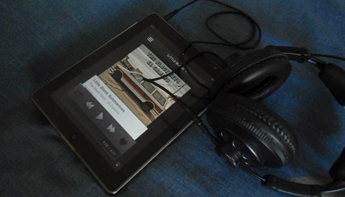 App de ex.fm en iPad