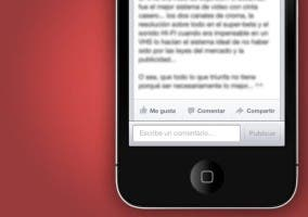 Nueva actualización de Facebook