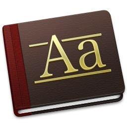 Forma de catalogar las fuentes en OS X