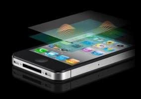 Pantalla multi-touch del iPhone