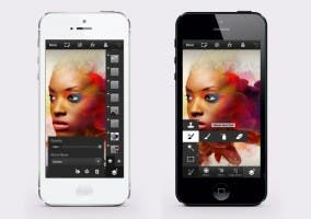 Photoshop Touch para el iPhone 5