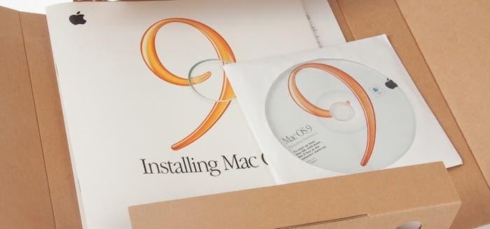 Contenido del paquete del sistema operativo Mac OS 9