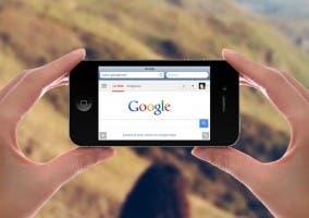 Google como motor de búsqueda en Safari