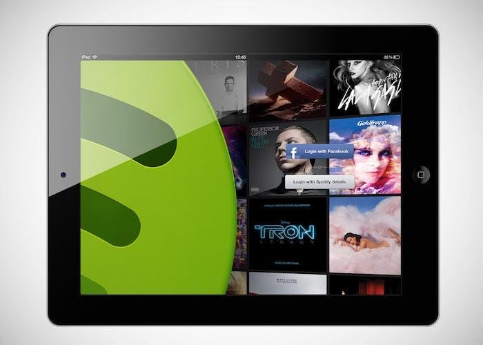 Spotify en el iPad
