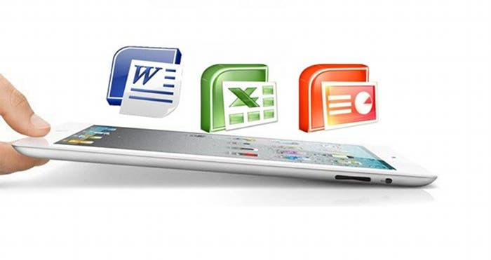 La suite ofimática de Microsoft para iPad