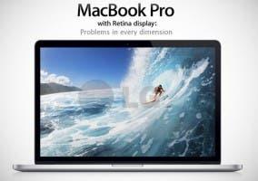 Problemas MacBook Pro pantalla Retina