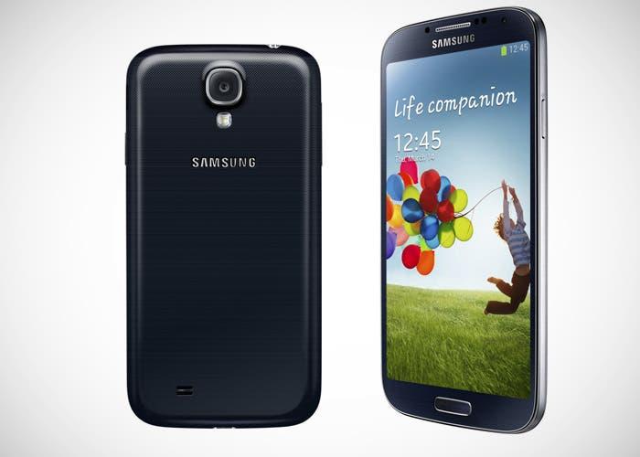 Samsung Galaxy S 4, carcasa de plástico