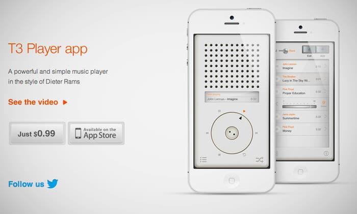 T3 Player para iOS