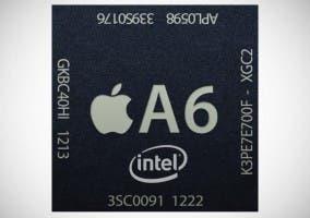 Chip A6 fabricado por Intel