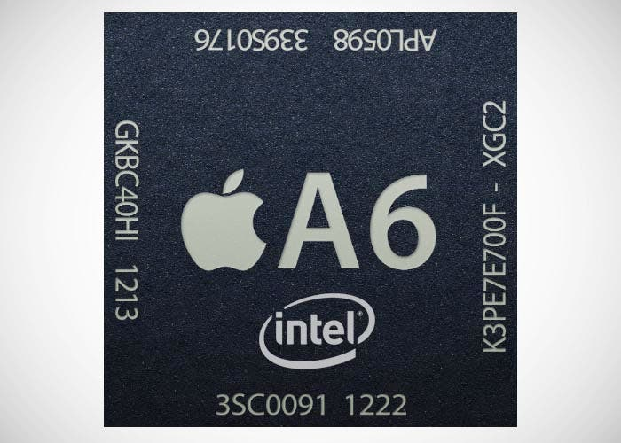 Chip A6 fabricado por Intel