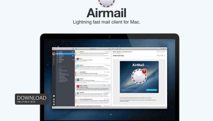 Airmail para OS X