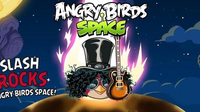 Actualización de Angry Birds con la incorporación de Slash
