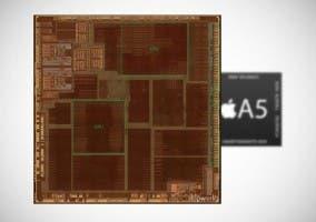 Diseño interno del nuevo chip A5