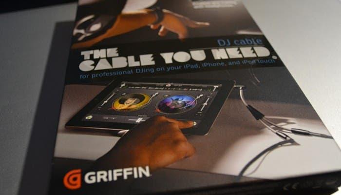 Caja original del Cable de DJ de Griffin