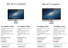 Tiempo de envío del iMac