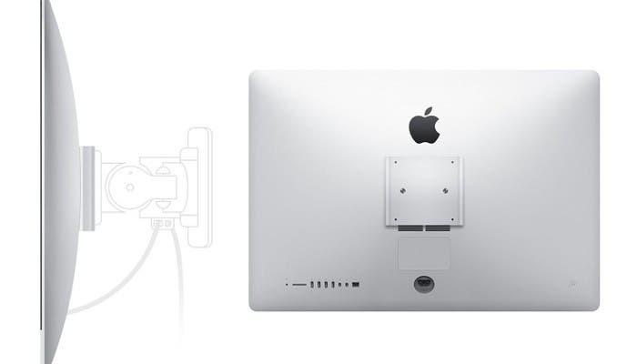 Nuevo iMac con soporte para el estándar VESA