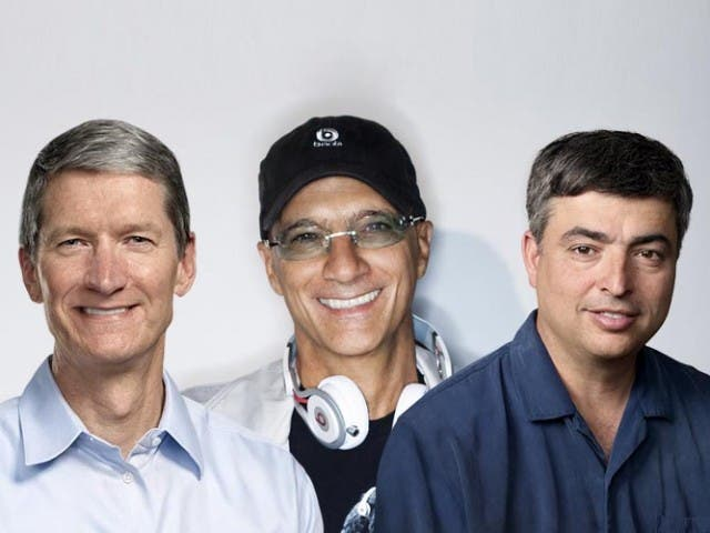 Tim Cook se reúne con Jimmy Iovine, CEO de Beats Audio