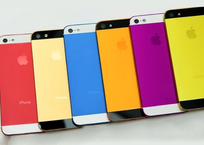 Rumor sobre un iPhone de colores