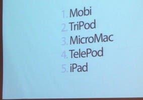 Posibles nombres que se barajaron para el iPhone