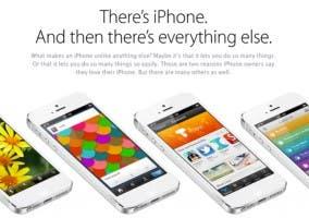 Nuevo apartado web en la página de Apple