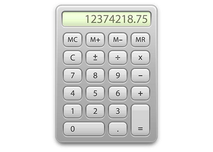 Icono de Calculadora de OS X