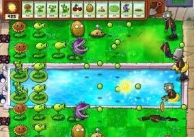 Captura del juego Plantas contra Zombis